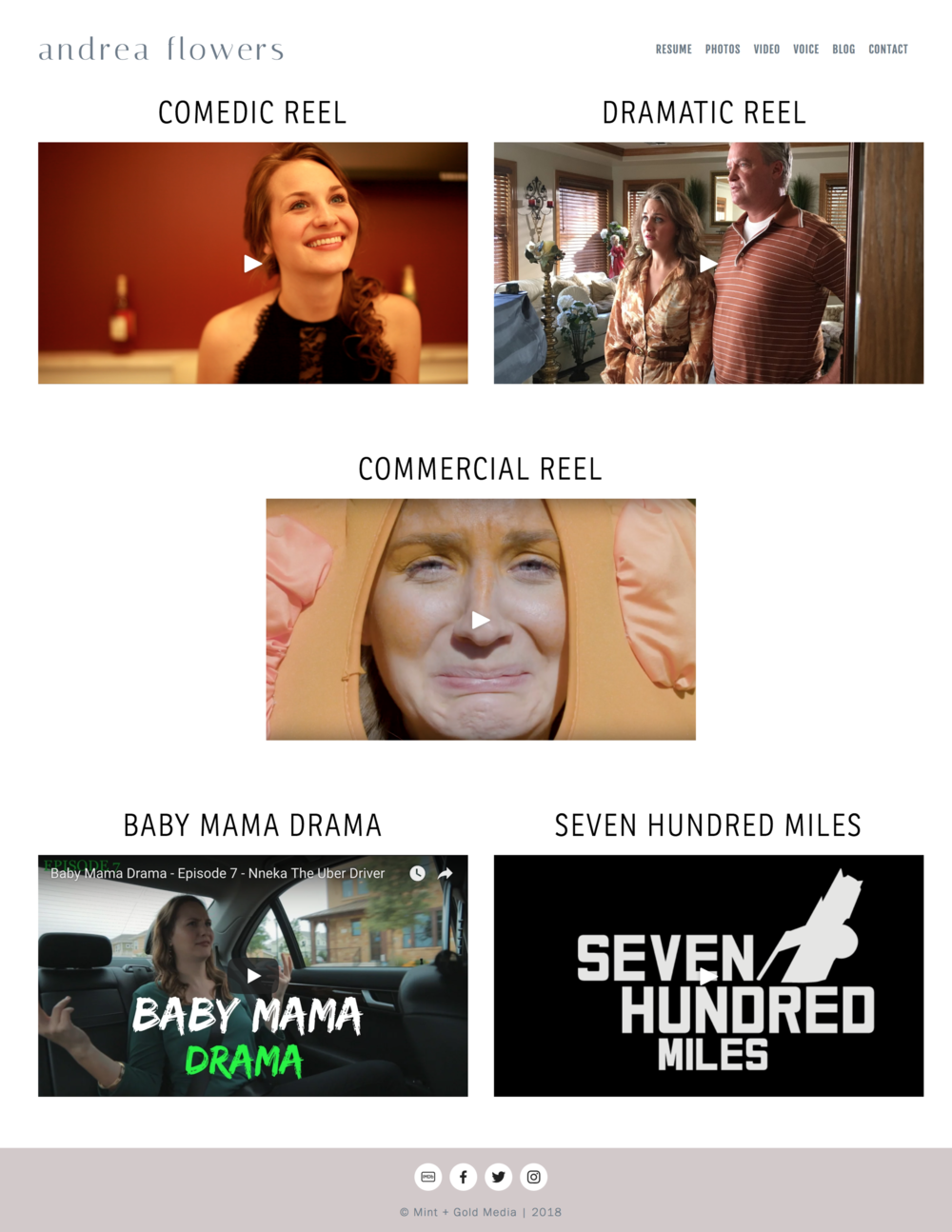 Andrea Flowers   LA based actress   Comedic and Dramatic Film Reel — Andrea Flowers 2.png
