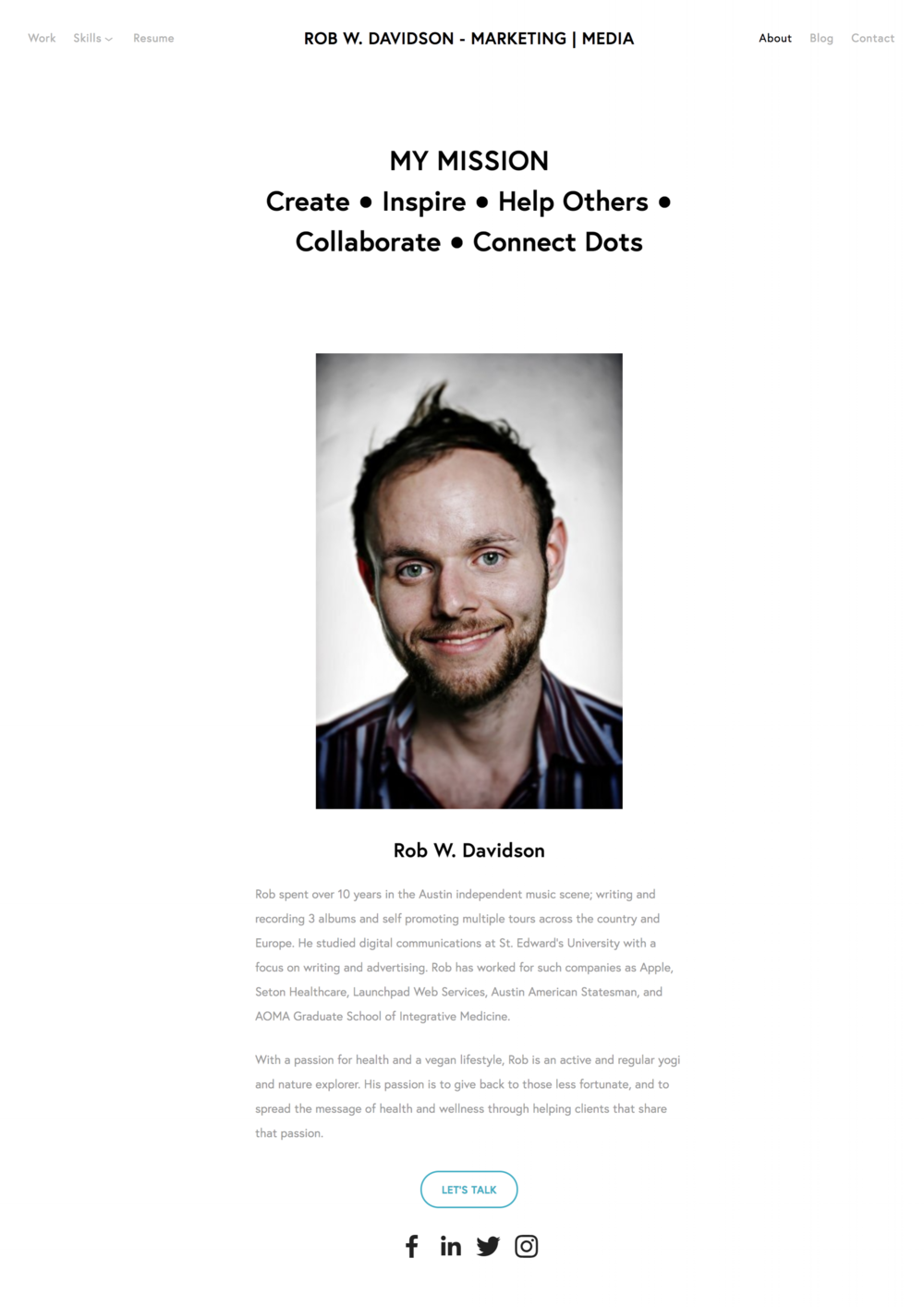 About Rob W  Davidson   Digital Marketing Leader   Austin  TX — Rob W  Davidson   Marketing   Media 2.png