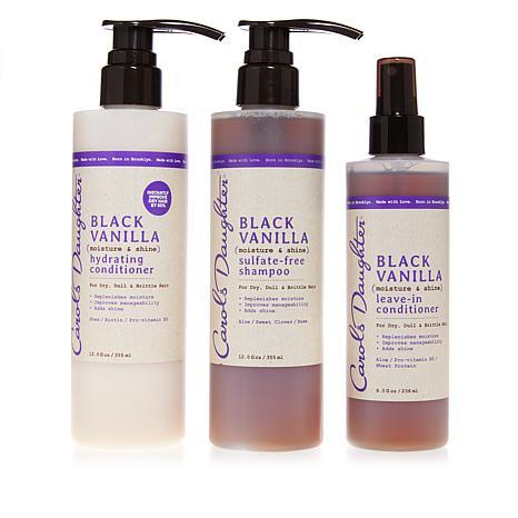 Black Vanilla Shampoo & Conditioner    - Carol's Daughter