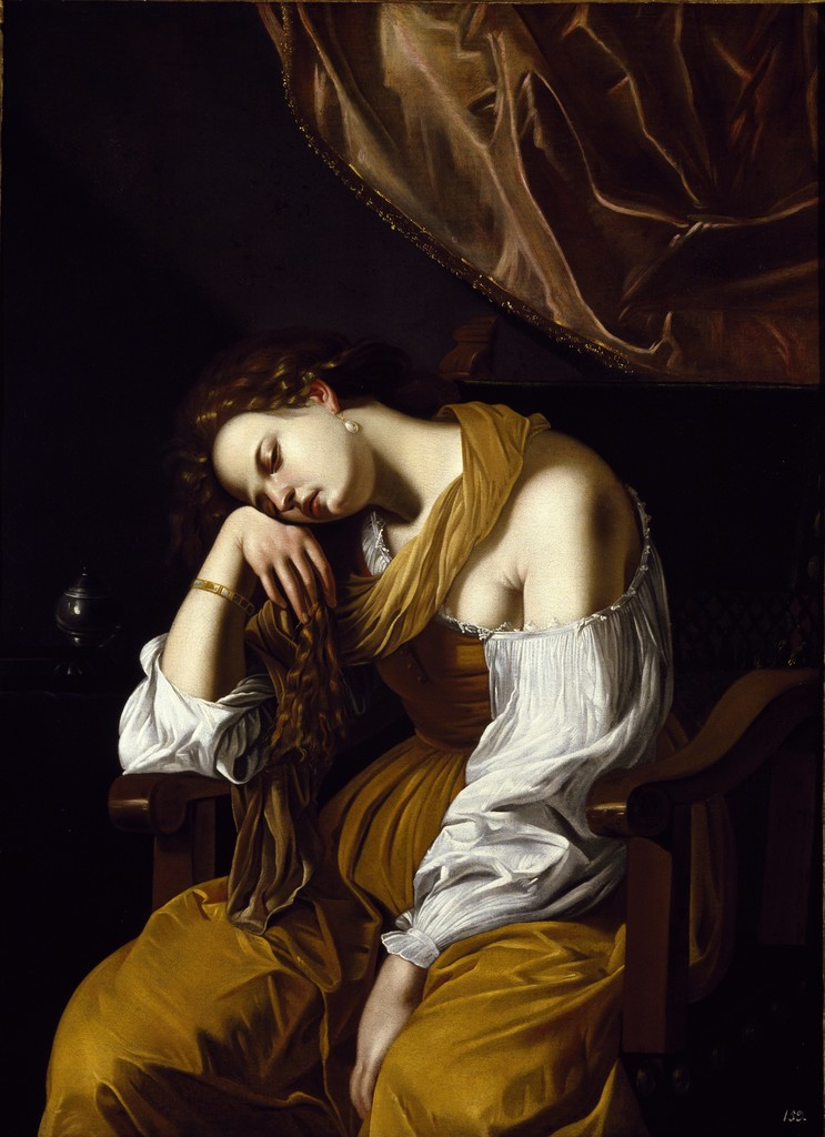 Artemisia Gentileschi, Penitent Magdalene, c. 1625
