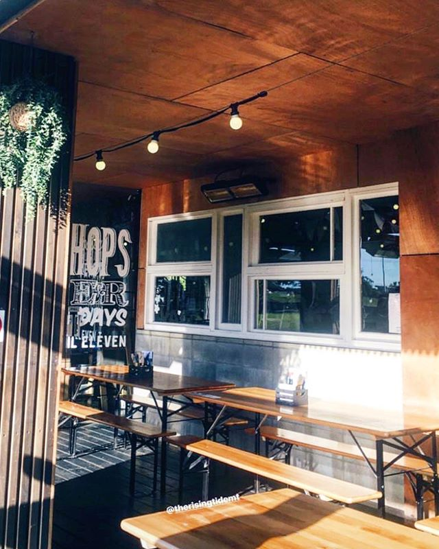 Does anyone recognise this snippet of one of our favourite venues in the Bay of Plenty? We will be launching our no-more-queues @mnyouapp at @therisingtidemt VERY soon! It has 40 taps of craft beer, wine and cider and home to @mountbrewingco.brewery and @johneysdumplinghouse so it's a hotspot, and we are about to make customer experience there even better.  Watch this space.