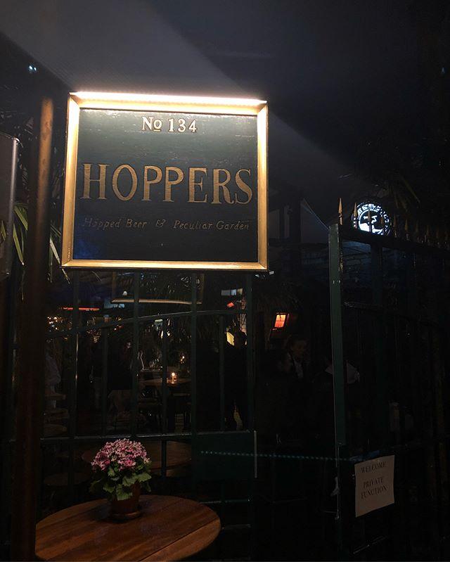 Congratulations to our friends on the opening of @hoppersgardenbar great job team 👍🏻 @sisterhustle @michaeljboyens @scott__nz