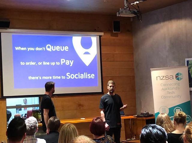 Great night pitching at the NZ Software Association Angel at my Table event. Stoked to take out the People's Choice award for the night! #mnyou #thisroundsonus #doingitforthepeople @michaelboyens8020 @scott__nz