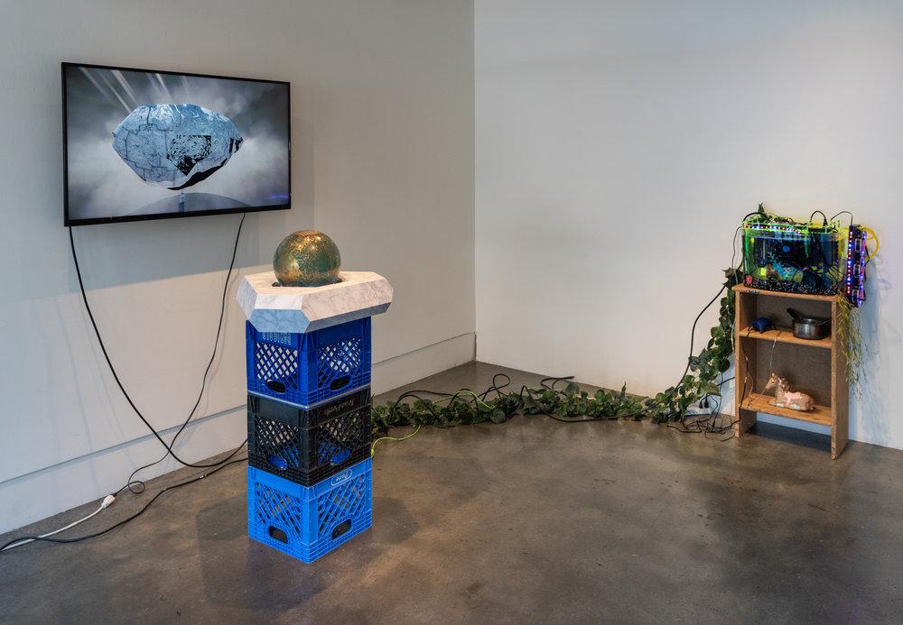 Tabitha Nikolai ,  Utopia Without You   (installation view) , photo Mario gallucci