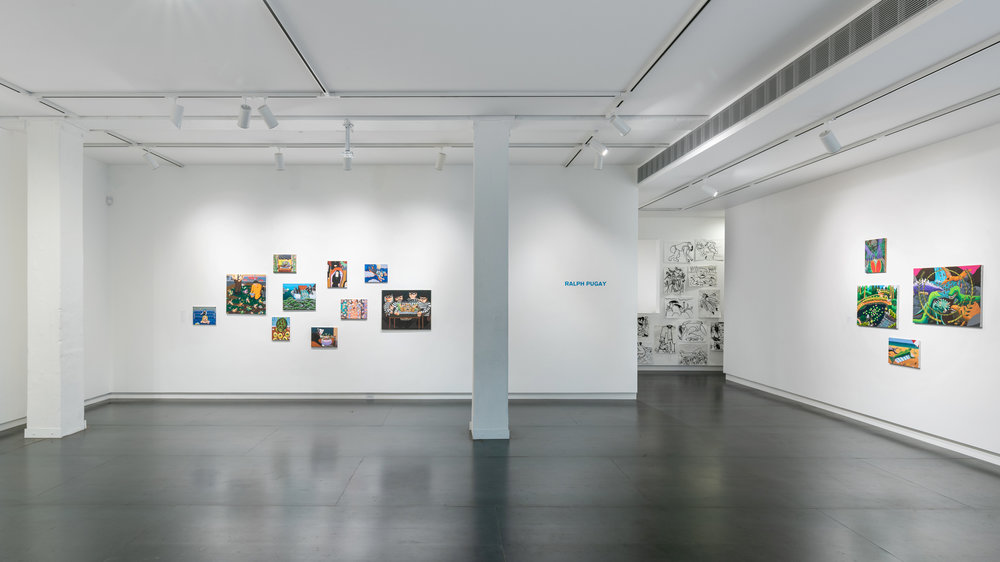 Ralph Pugay,  a spiritual guide to brute force  (installation view)  Photo by Mario Gallucci, courtesy the artist and Upfor