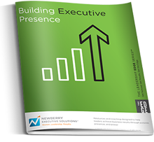 Building Executive Presence  Show others you are a confident, credible leader with tremendous growth potential.   You will learn how to:  Help others see you as the right person for a promotion.  Change detracting behaviors that keep others from seeing the value you bring.  Drive for results without compromising important relationships.  Connect with leaders without feeling like a schmoozer.  Manage distractions to stay focused on where you can add the most value.