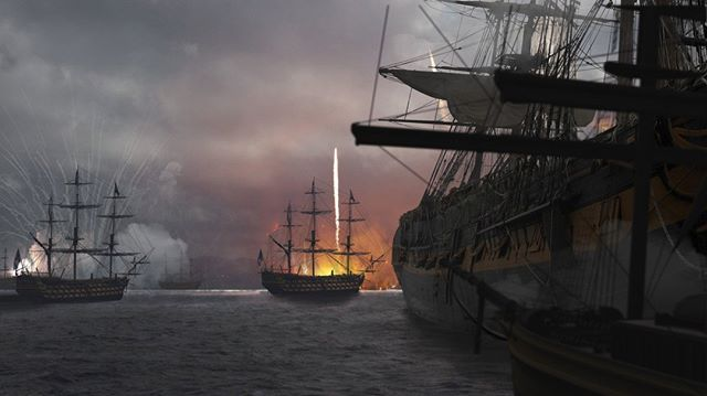 """Concept art from """"Francis Scott Key and The Song That Built America"""" #vfx #pbs #documentary #conceptart #jasrdunn"""