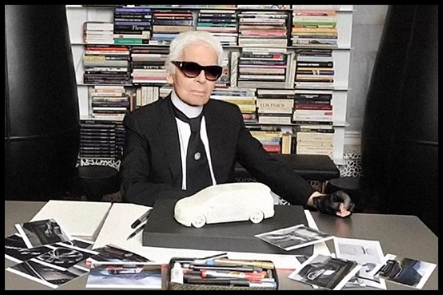 与时尚大帝  Karl Lagerfeld  跨界合作中国别克 Buick 特别车款