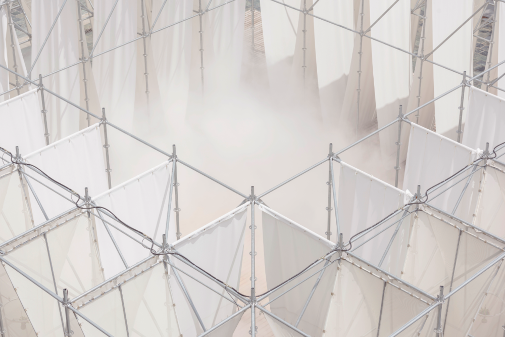 """""""供雾所Mist Encounter"""",2017,摄影:李易暹,© 偶然设计+陈冠玮建筑师事务所"""