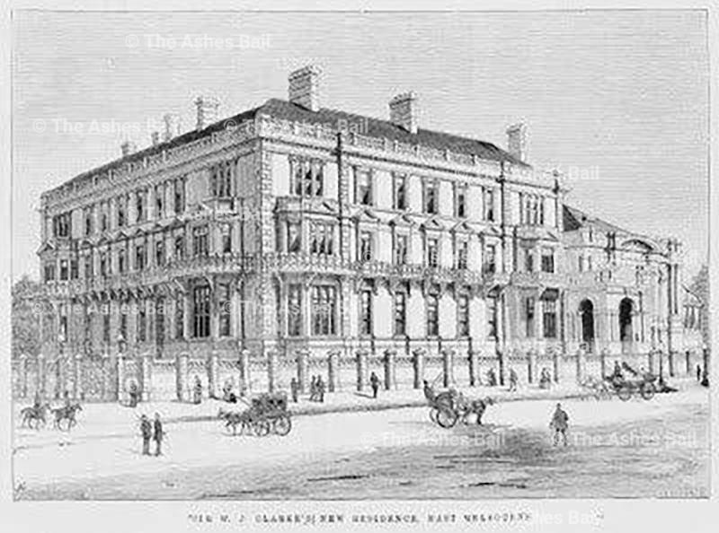 Cliveden, Clarke's city mansion, 1887