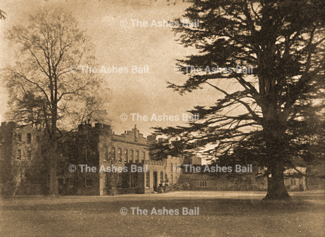 Cobham Hall, Lady Darnley's personal photo