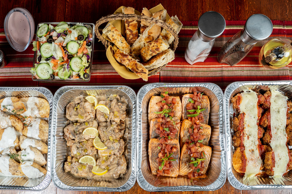 Catering for you - You have tried the rest, now try Carolina's Catering. We offer party pans that include bread and salad. On-time delivery available so you have one less thing to worry about.