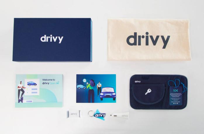 Het Drivy Open-welkompakket