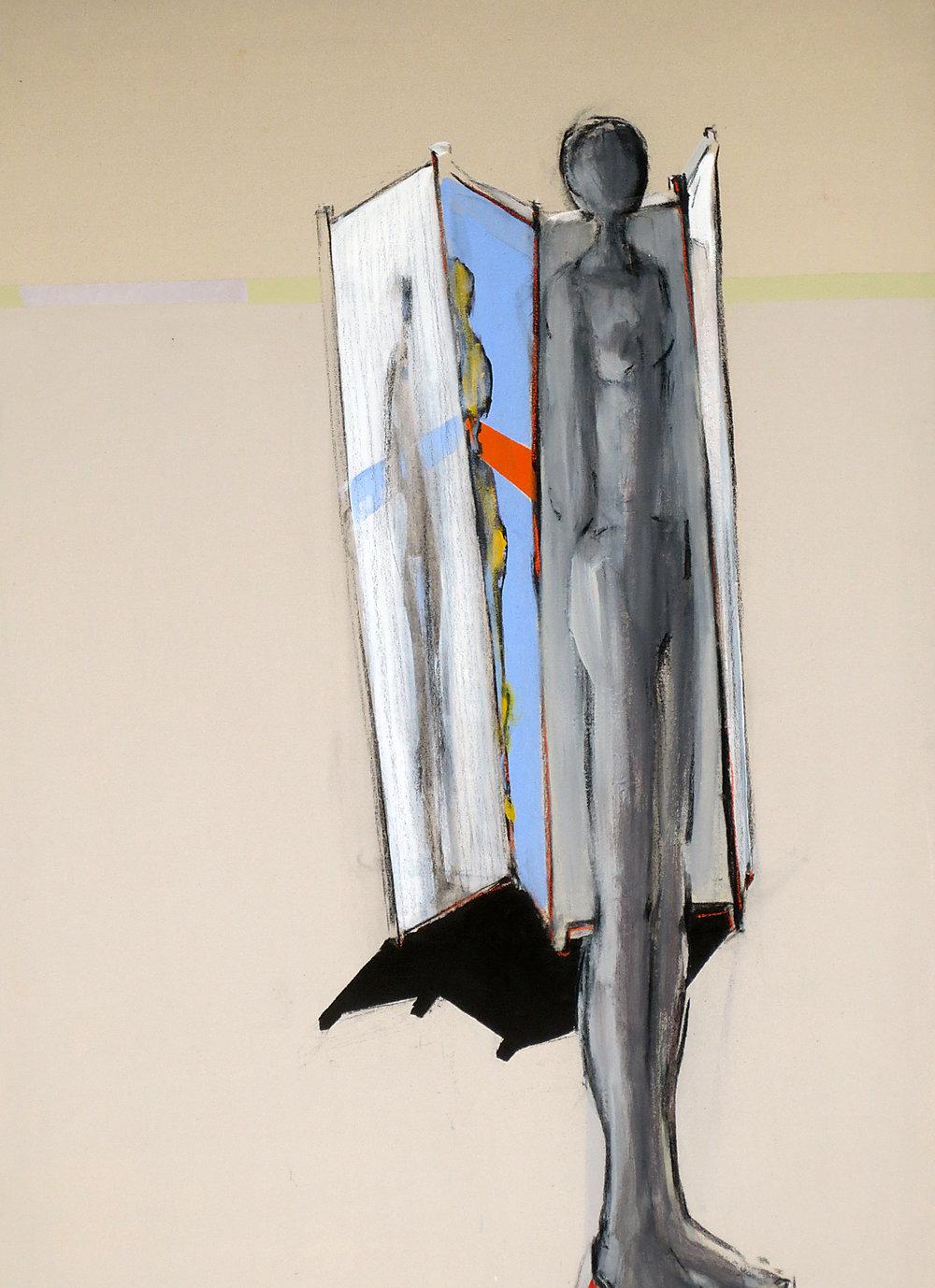 Paravent VI, Acryl auf Leinwand 135 x 95 cm
