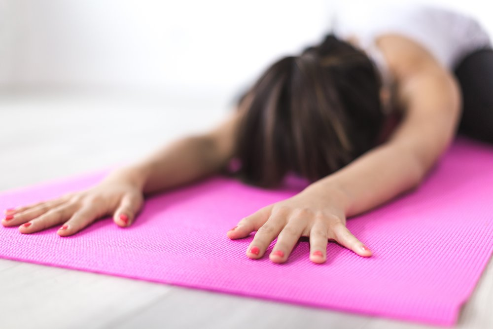 Yoga reduces anxiety and lifts mood
