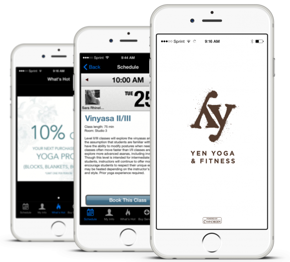 Download the Yen Yoga & Fitness app for Apple or Android.