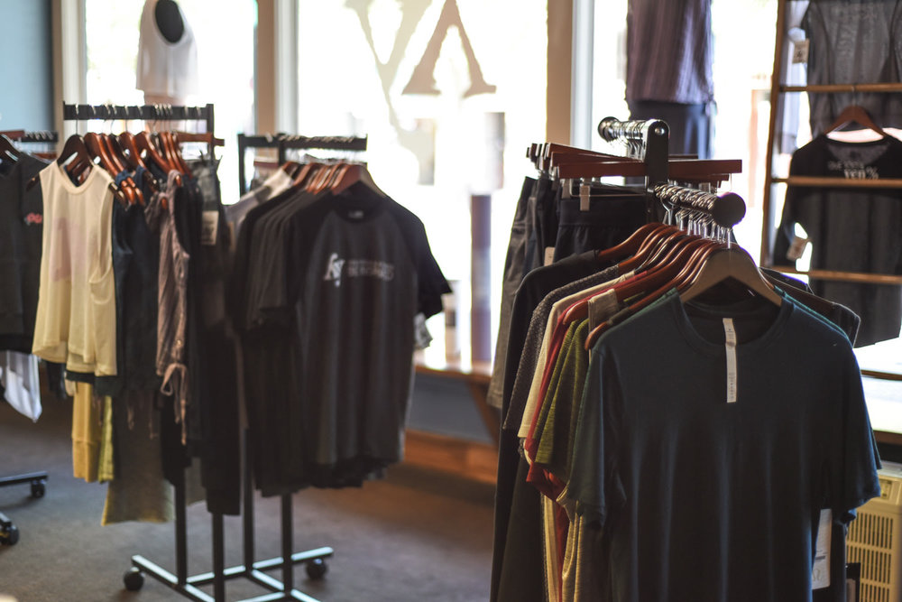 Yen Yoga & Fitness boutique with the latest activewear and accessories.