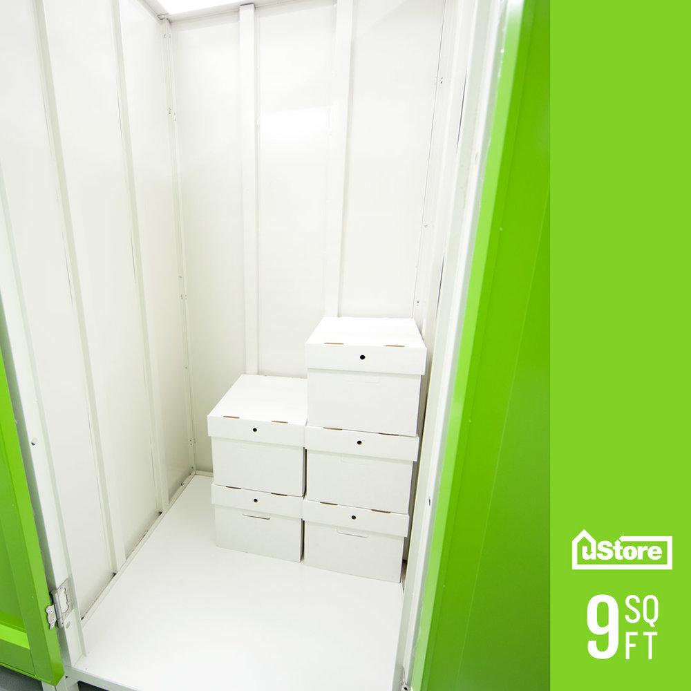 9 sq. ft. storage cabinet