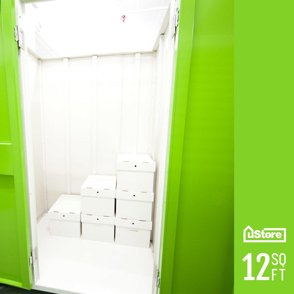 12 sq. ft. storage cabinet