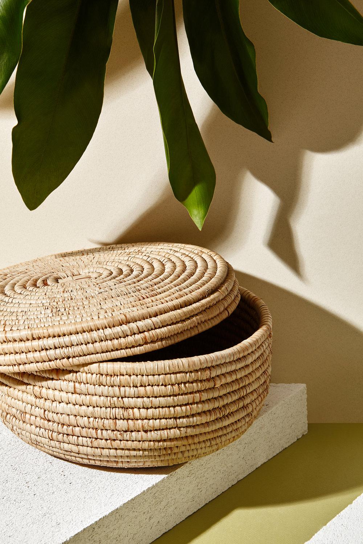 Palha basket photographed by Janneke Kroon