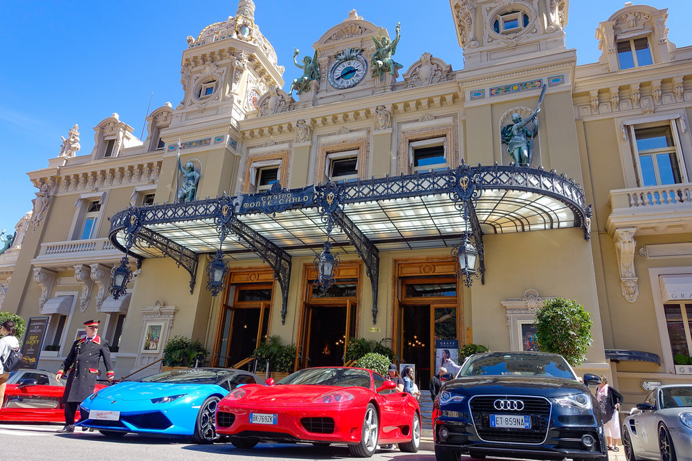 The famous casino of Monte Carlo.
