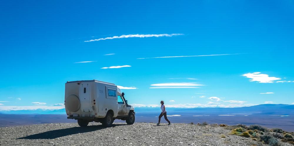 Patagonian skies.
