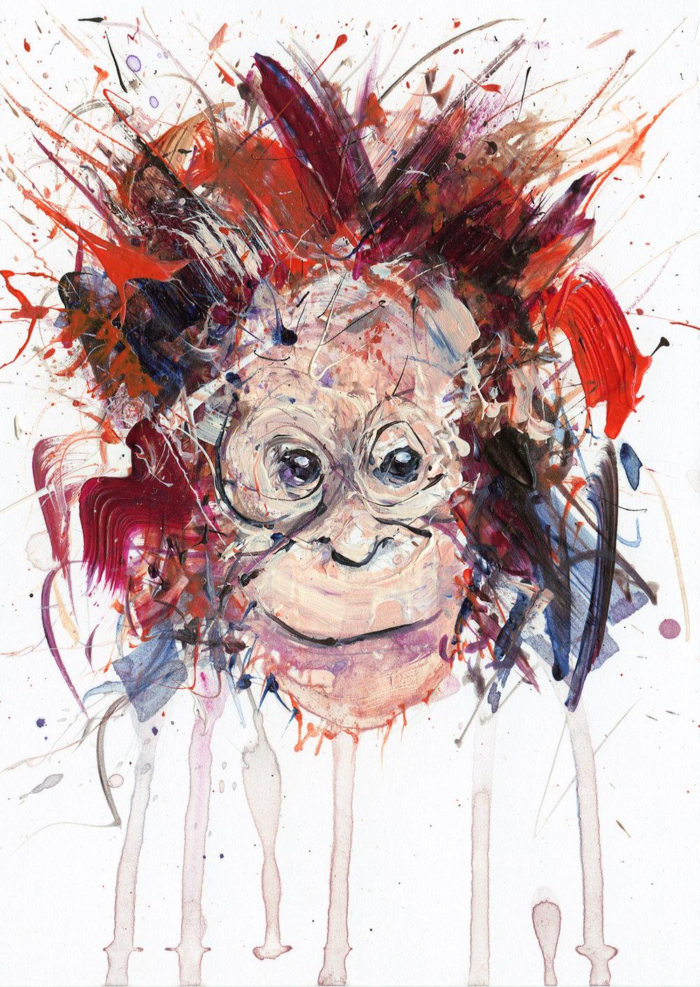 Dave White - Young Orangutan