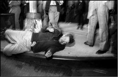 Bruce Gilden, Fifth Avenue, New York City, 1984