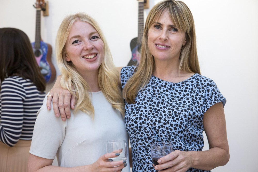 Director Gemma Peppe and Assistant to the Director Kiera Burton pleased with a succesful evening