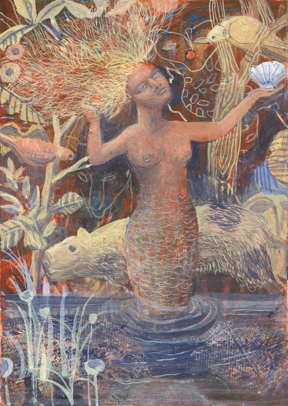 Mick Rooney RA - Lost Mermaid.jpg