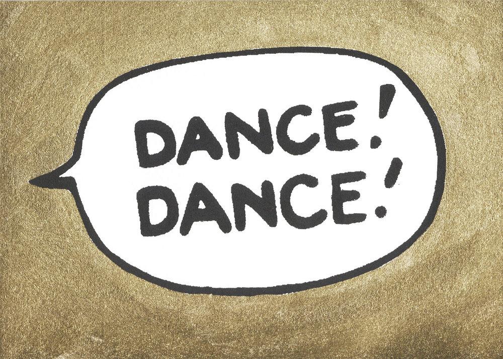 Adam Bridgland - Dance! Dance! Gold.jpg