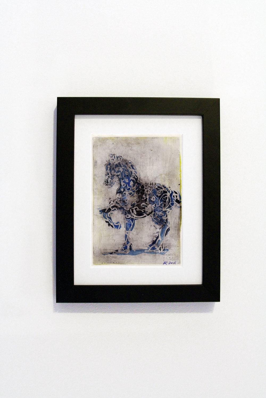 Blue Horse Black Frame.jpg