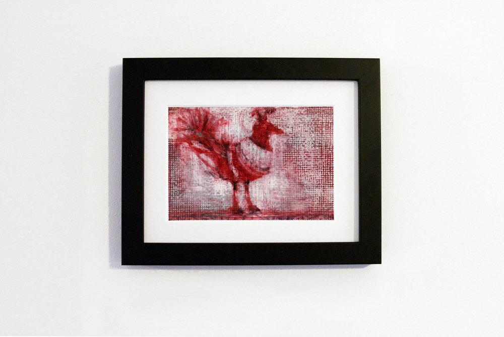 Red Bird Black Frame.jpg