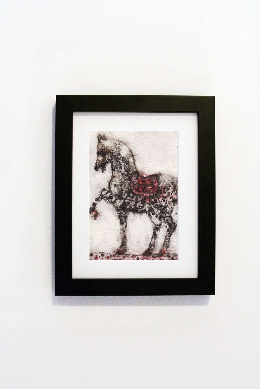 Standing Horse Black Frame.jpg