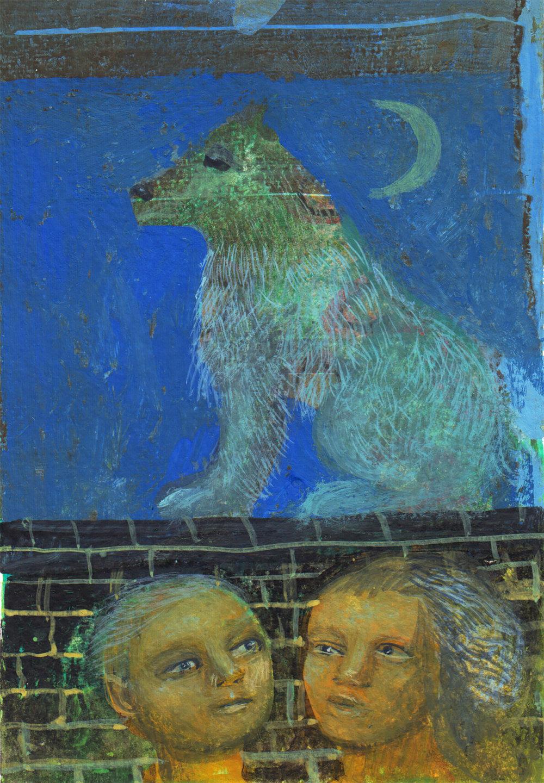 Mick Rooney RA - The Midnight Dog.jpg