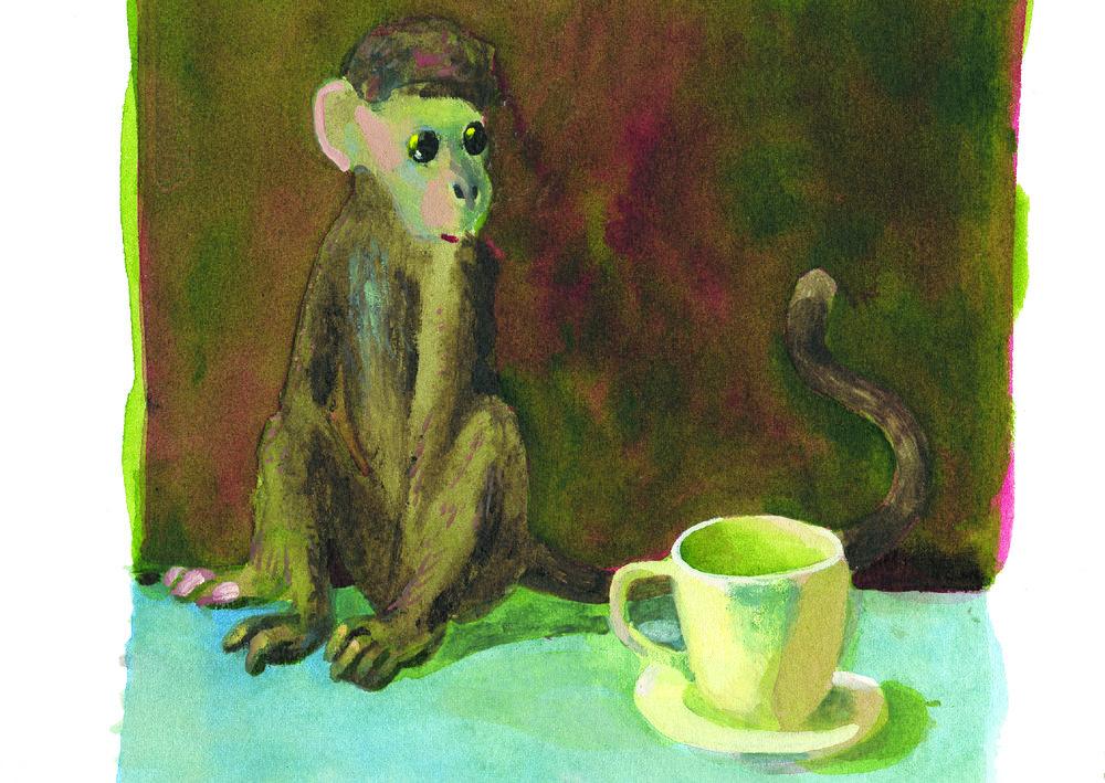 Charles Williams - Monkey and Teacup.jpg