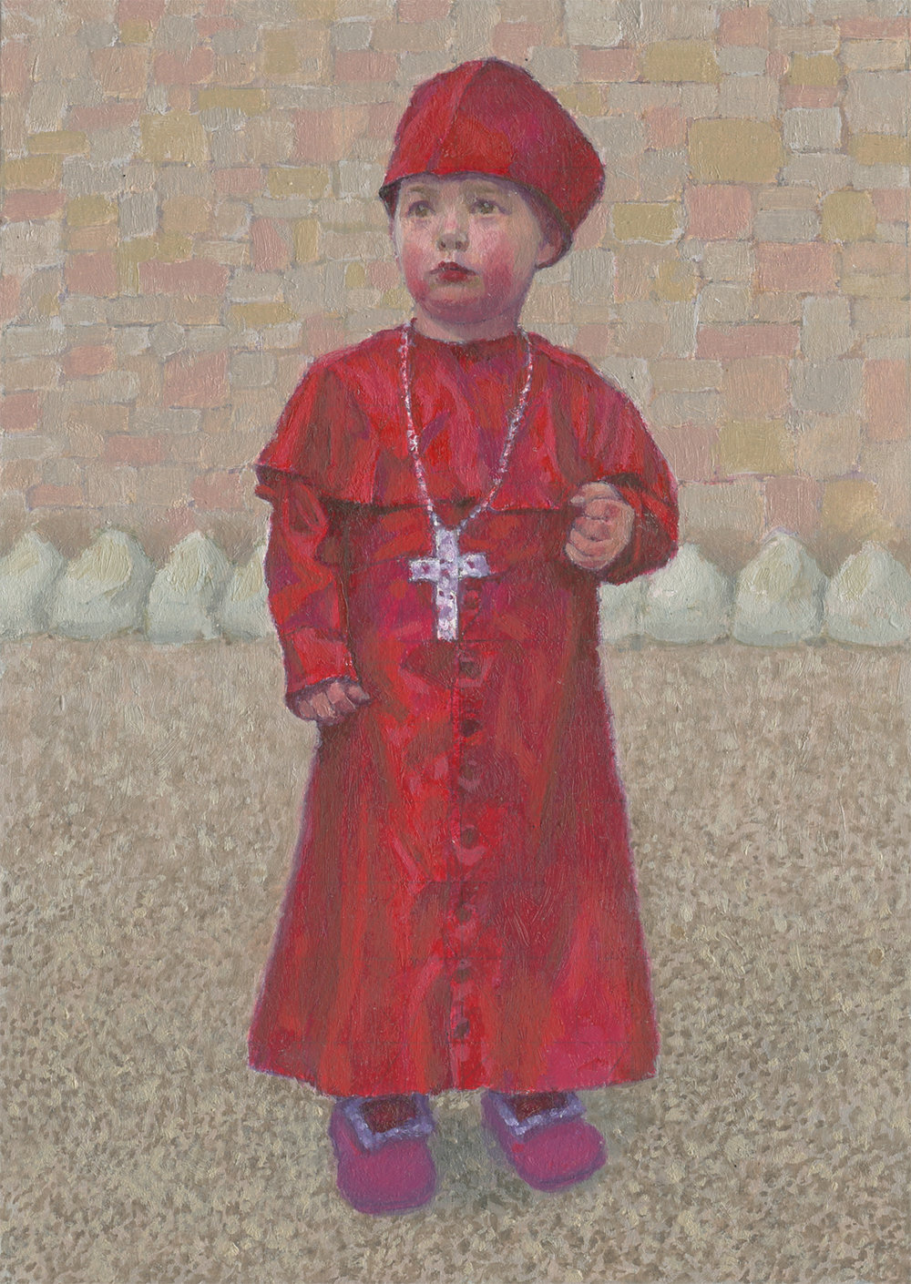 Mark Peppé- The Artist's Twin Brother as Cardinal Wolsey.jpg