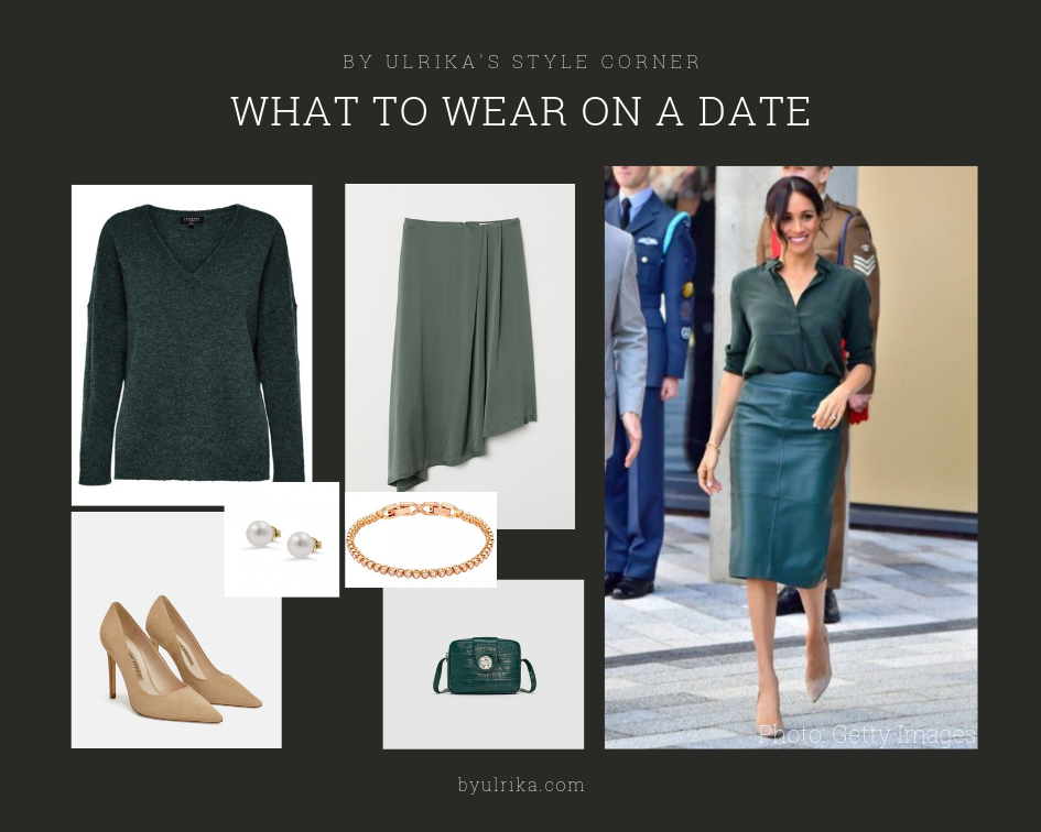Photos: H&M (knitwear & skirt), Zara (pumps & bag), Swarovski (bracelet)