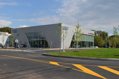 audi west chester - new dealership — wick fisher white