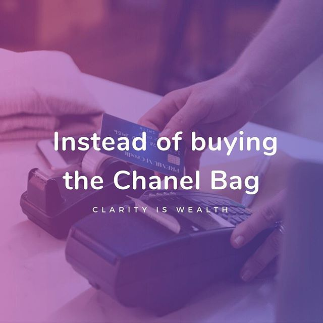 How many of you are tempted to purchase your very first #Chanel bag?! 👸🏻 We felt that impulse too! Before you swipe the card for a Chanel, here are some other FANTASTIC ways you can spend that $5000-$6000! Visit link in our bio now! #gotclarity
