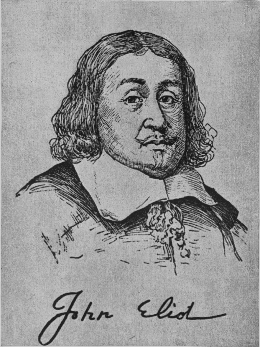 John Eliot (1604-1690) [his signature]    I added a click through/new window URL link to this photo