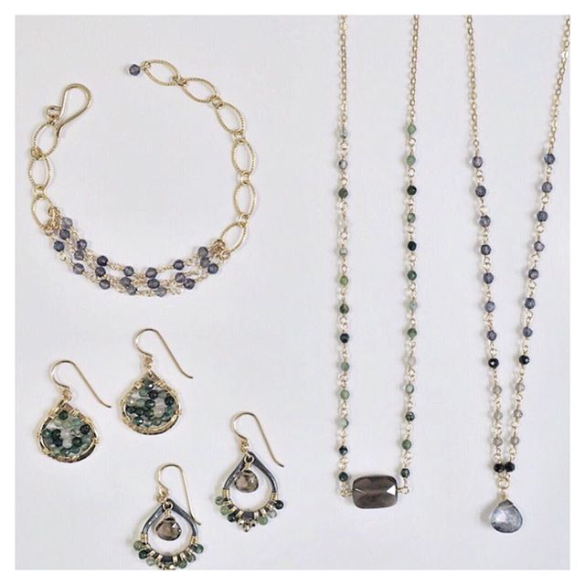Just a few of the pieces that are going to the Santa Barbara Museum of Art @sbmuseart . . . . .  #jewelrymaker #styleinspo #whatiwear #jewelrylovers #everydayjewelry #fashionjewelry #jewelrystyle #jewelrylove #designerjewelry #instajewelry #ilovejewelry #RubyLena #giftsforher #wholesfashion #wholesalejewelry #boutiquefashion #boutiquejewelry #handmadejewelry #artisanjewelry #jewelrylovers #jewelrydesigner #whatiwore #flatlay #flatlaystyle