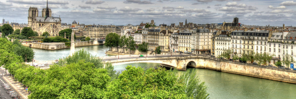 Paris, where I grew up  -