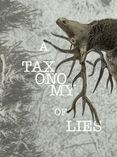 A Taxonomy of Lies - Chapbook, Bottlecap Press, 2016
