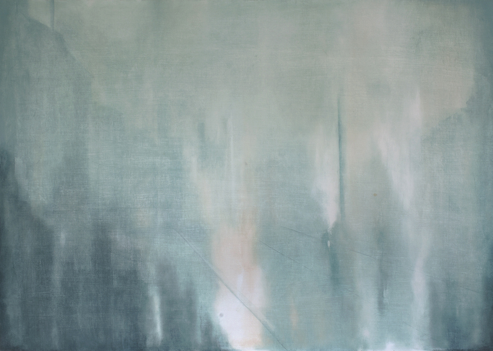 Beyond the Sightline  122 x 87cm  Oil on Board
