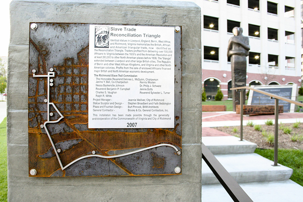 Richmond Slave Trail Signage