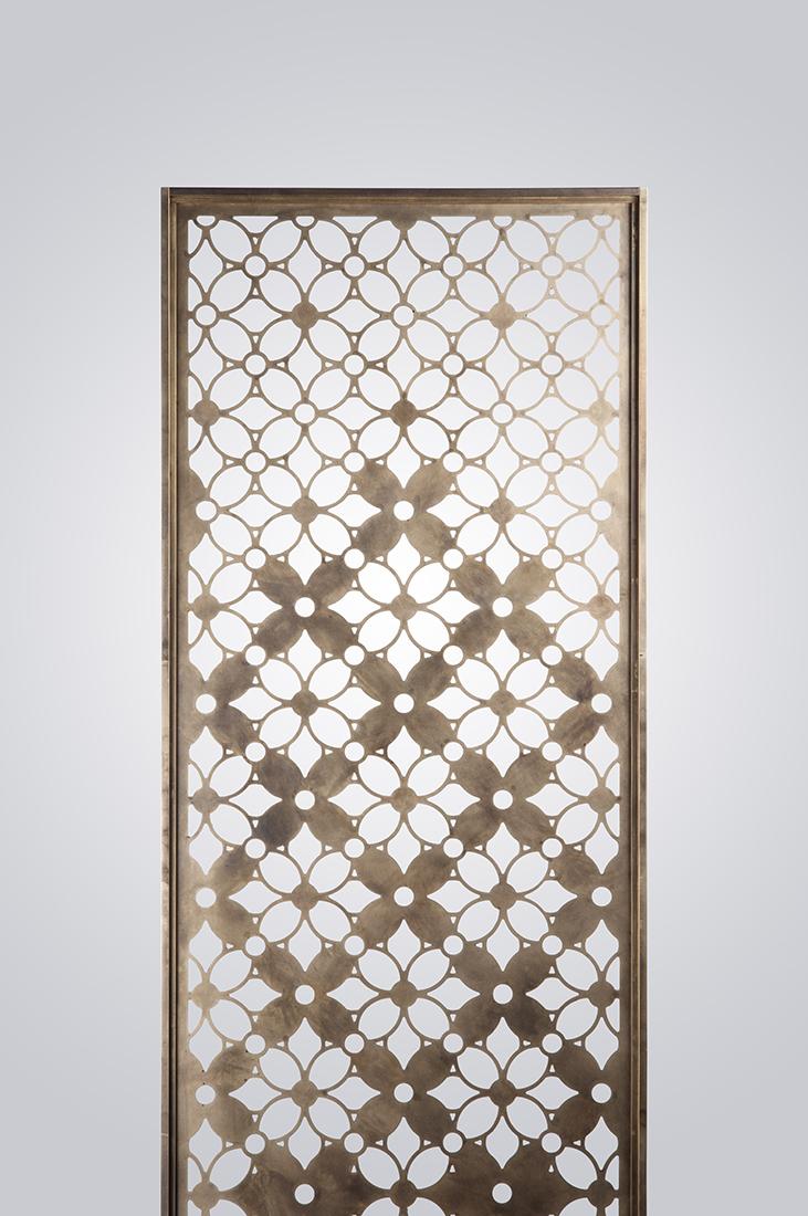 Brass Pocket Door Screen