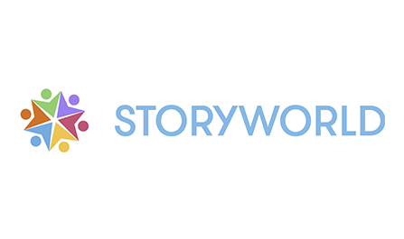 - STORYWORLD™ is a learning-through-story language tool for children two years old and up.Our mission is to connect people through language and shared stories.