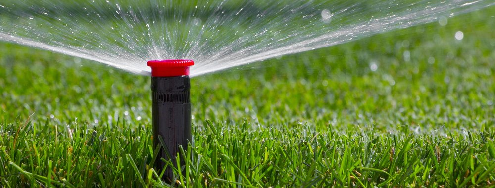 IRRIGATION - Are you tired of wasting water while standing in the sun hand watering your plants? We have the right irrigation system for your yard.
