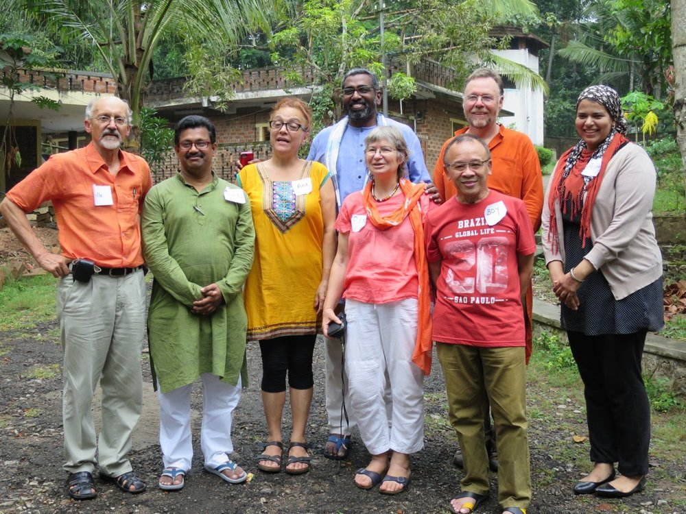 From left to right, front: Palle Møldrup, Sujit Kumar Paul, Ana Maria Barros Pinto, Eva Rikke Schultz, Roberto Nicolasora, Asmaa Sleem. Back: Noël Bonam, Alan Furth.